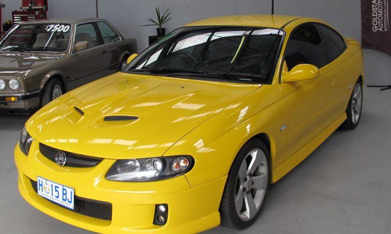 2005 Holden Monaro - Head Lights