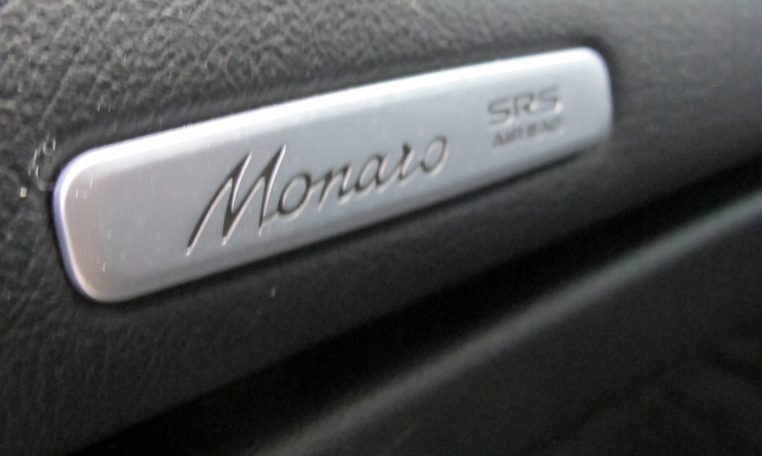 2005 Holden Monaro - Badge