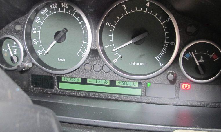2003 Range Rover Vogue - Dash Instruments