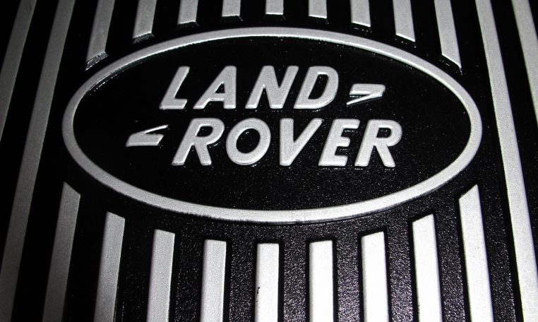 2003 Range Rover Vogue - Logo