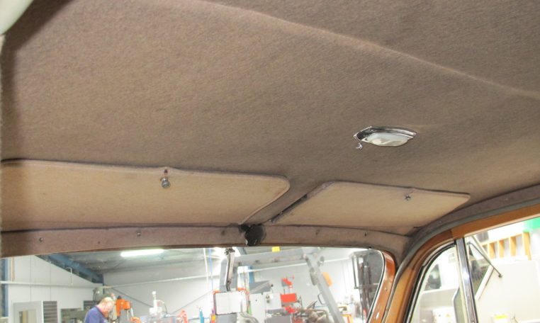 1933 Rolls Royce - Hood Lining