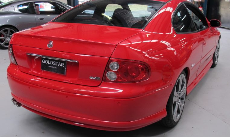 2003 Holden Monaro - Back View
