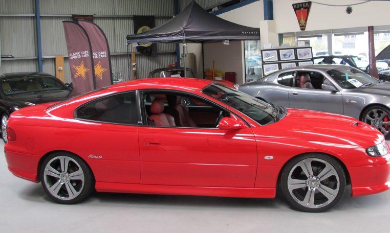 2003 Holden Monaro - Side View