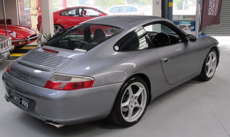2002 Porsche 911 Carrera - Side View