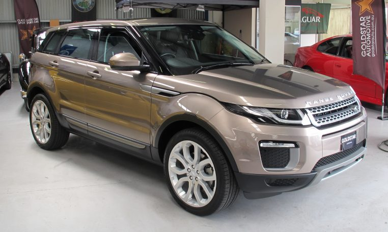 2016 Range Rover Evoque - Side Profile