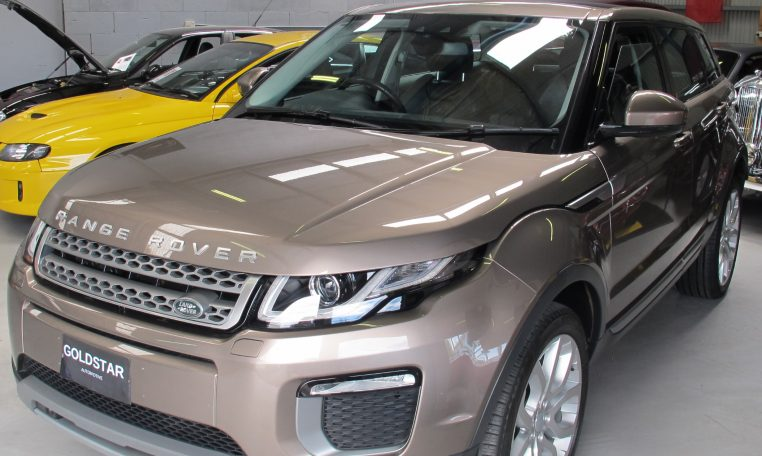 2016 Range Rover Evoque - Head Light