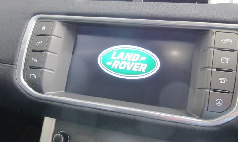 2016 Range Rover Evoque - Display Screen