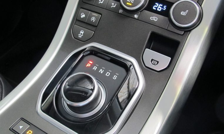 2016 Range Rover Evoque - Control Panel