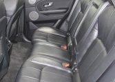 2016 Range Rover Evoque - Back Seat
