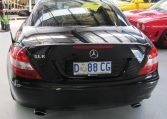 2005 Mercedes Benz SLK - Rear Profile