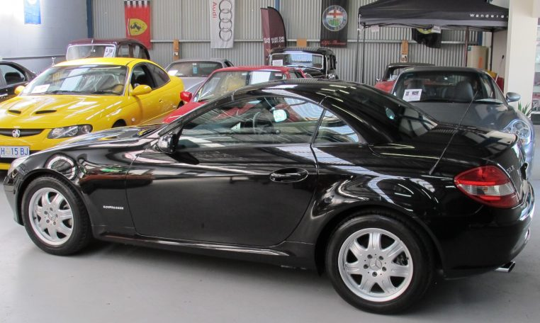 2005 Mercedes Benz SLK - Side Profile