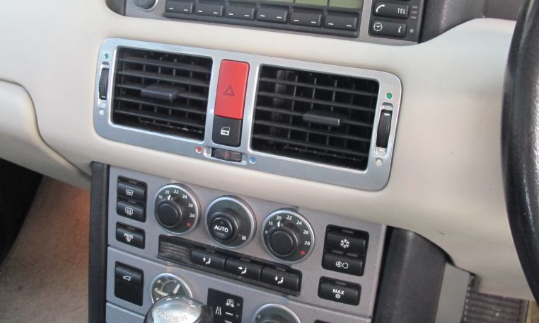 2002 Range Rover HSE - Heater Controls