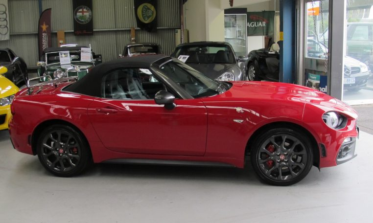 2017 Abarth 124 Spider - Side View