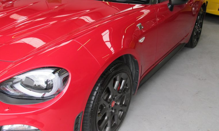 2017 Abarth 124 Spider - Front Guard