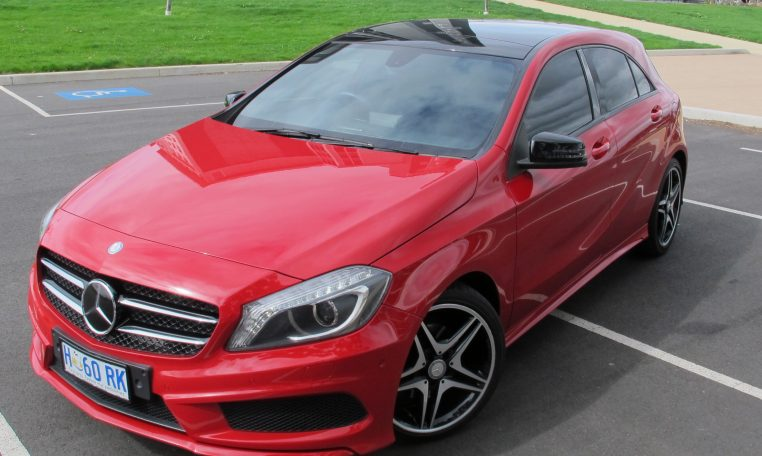 2013 Mercedes A180 - Front View