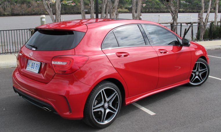 2013 Mercedes A180 - Side View
