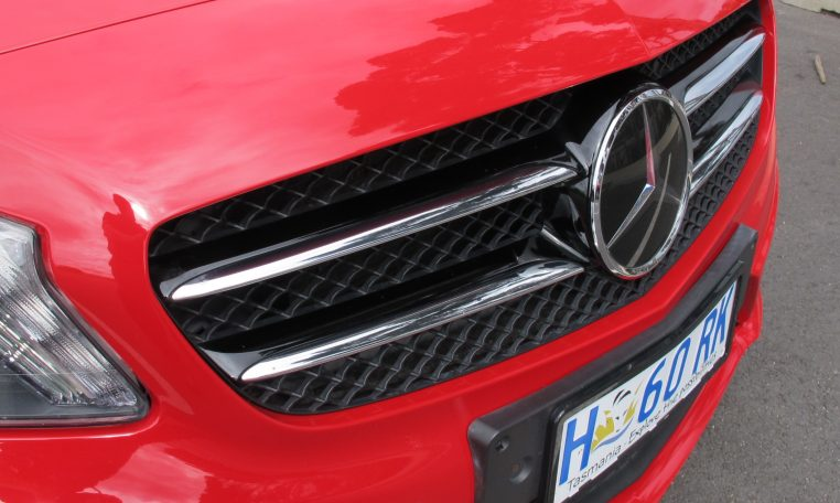 2013 Mercedes A180 - Front Grill
