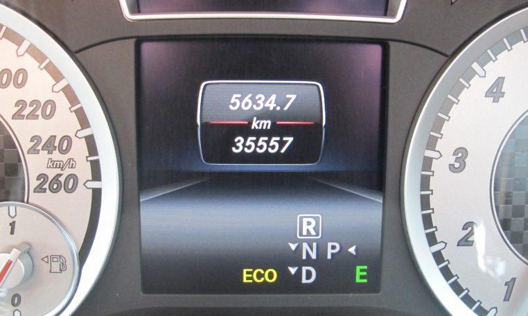 2013 Mercedes A180 - Dash
