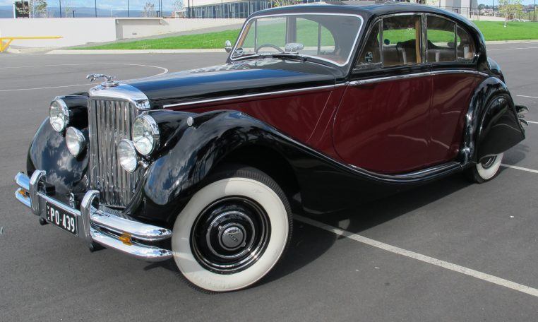 1949 Jaguar MK V - Wheels