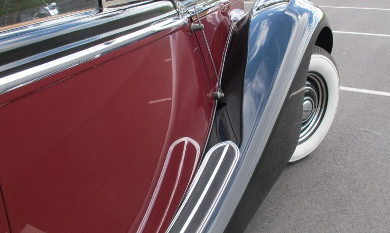 1949 Jaguar MK V - Front Guard