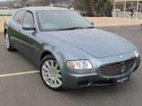 2005 Maserati Quattroporte - Front Profile