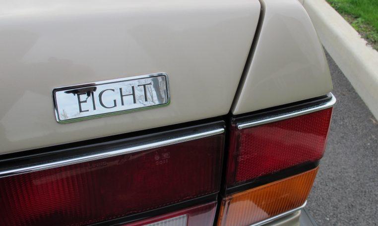 1990 Bentley Eight - Badge