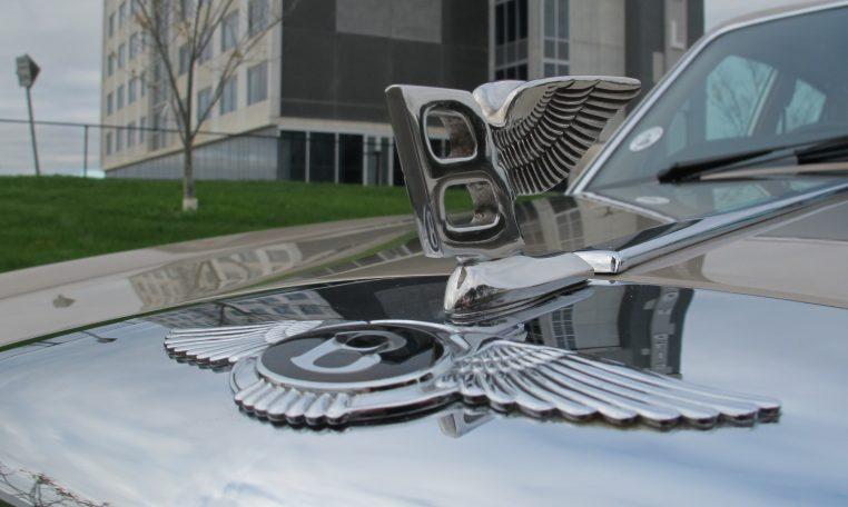 1990 Bentley Eight - Flying Wings Bonnet Emblem