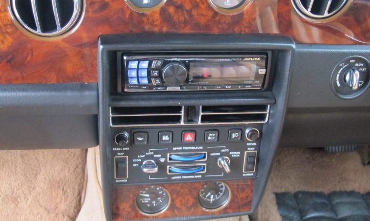 1990 Bentley Eight - Dash Controls