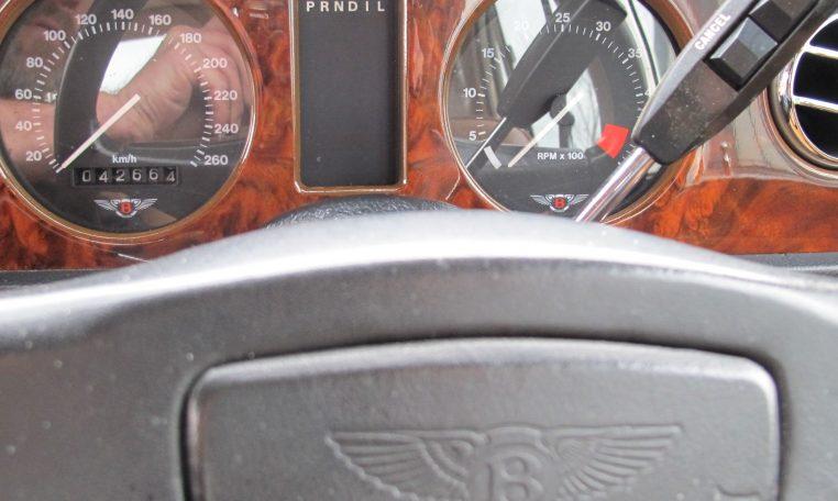 1990 Bentley Eight - Dash