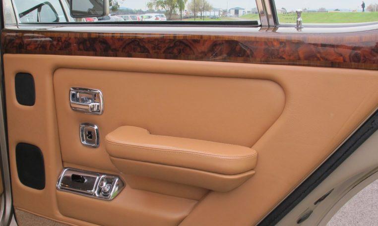 1990 Bentley Eight - Inside Rear Door
