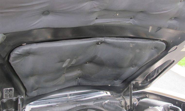 1990 Bentley Eight - Under Bonnet Lining