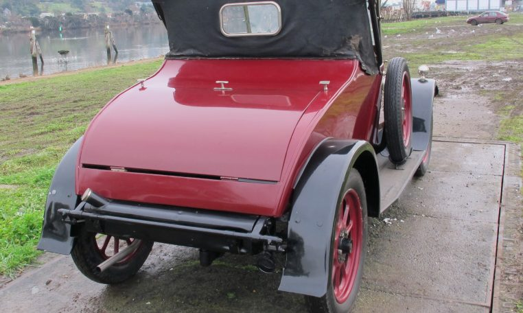 1928 Humber 9/20 - Rear View