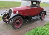 1928 Humber 9/20 - Side View