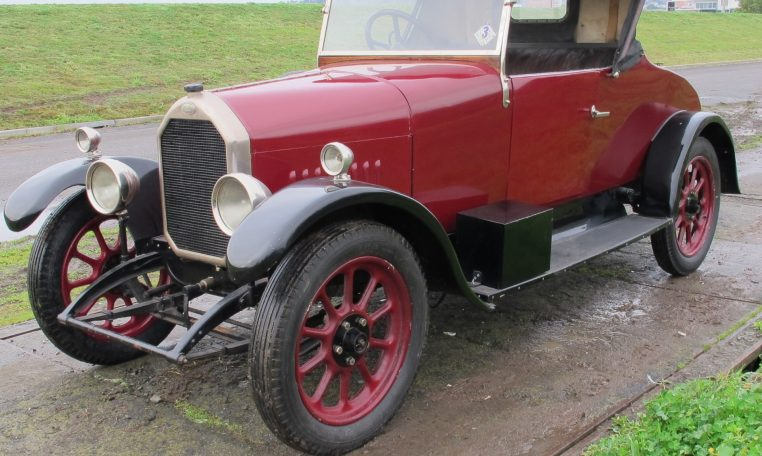 1928 Humber 9/20 - Passenger Side View