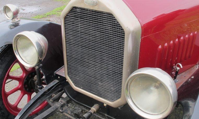 1928 Humber 9/20 - Headlights & Grill