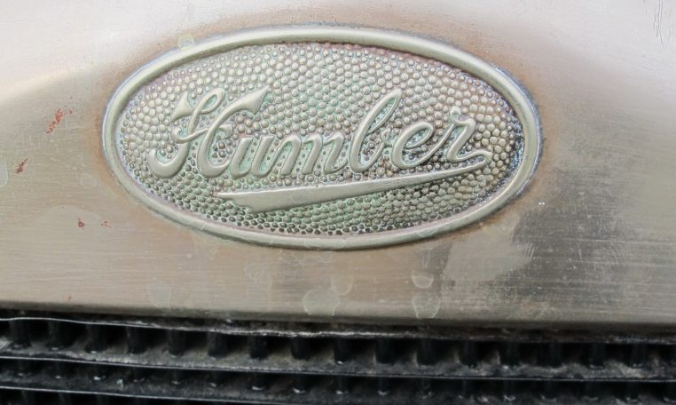 1928 Humber 9/20 - Badge