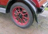 1928 Humber 9/20 - Rear Wheel