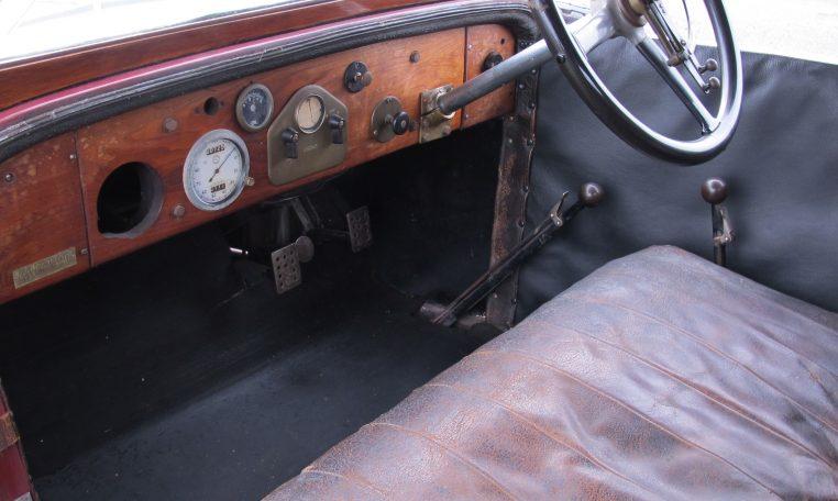 1928 Humber 9/20 - Steering Wheel