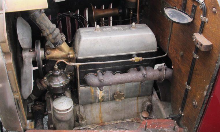 1928 Humber 9/20 - Engine Bay