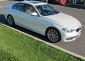 2016 BMW 320i F30 - Side View
