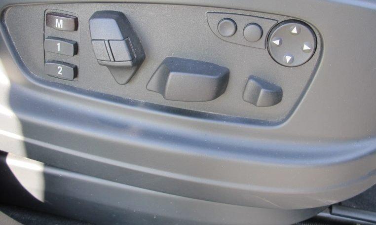 2007 BMW X5 - Electric Seat Controls