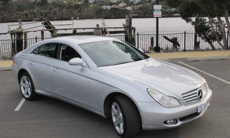 2005 Mercedes CLS500 - Side View