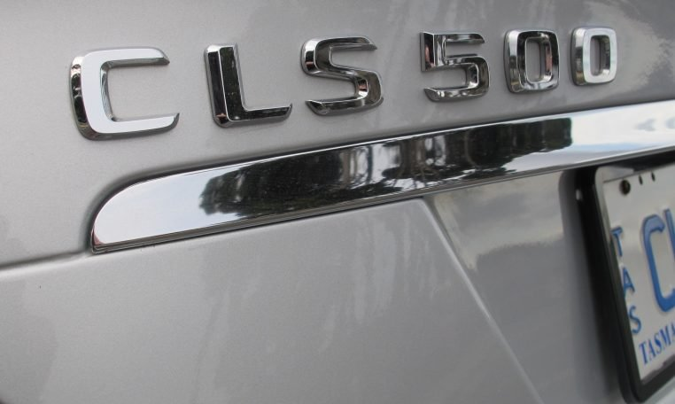 2005 Mercedes CLS500 - Boot Badge
