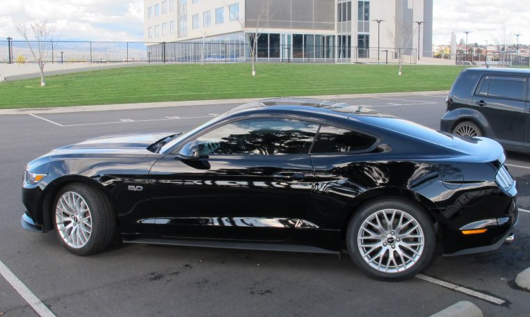 2016 Ford Mustang - Passenger Side View