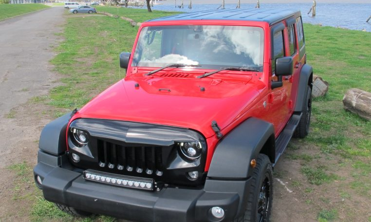 2016 Jeep Wrangler - Front View
