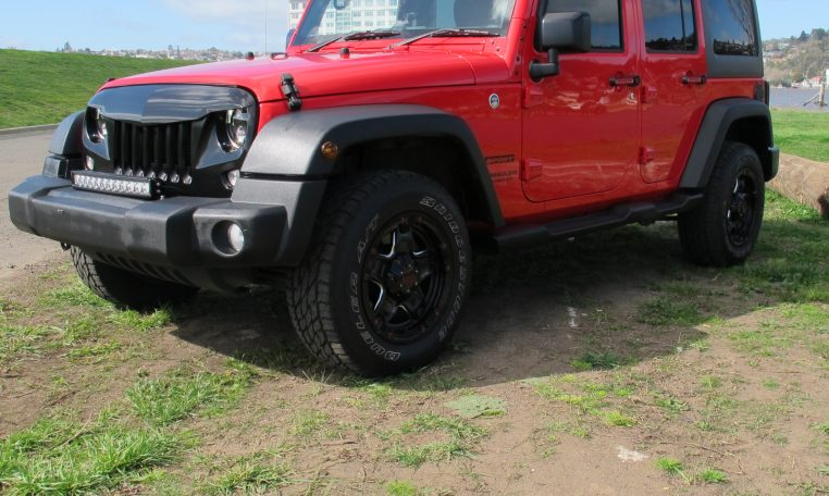 2016 Jeep Wrangler - Front Guard