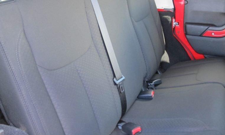 2016 Jeep Wrangler - Back Seats