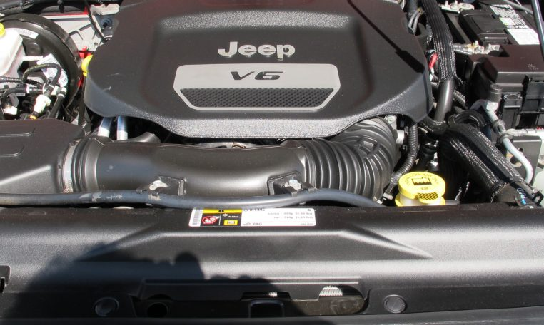 2016 Jeep Wrangler - Engine