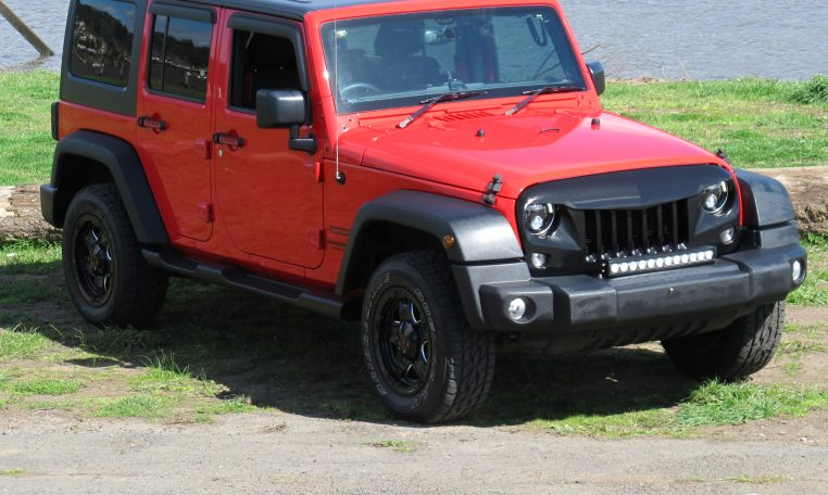 2016 Jeep Wrangler - Drivers Side View