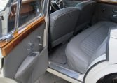 1960 JAGUAR MARK II - BACK SEAT